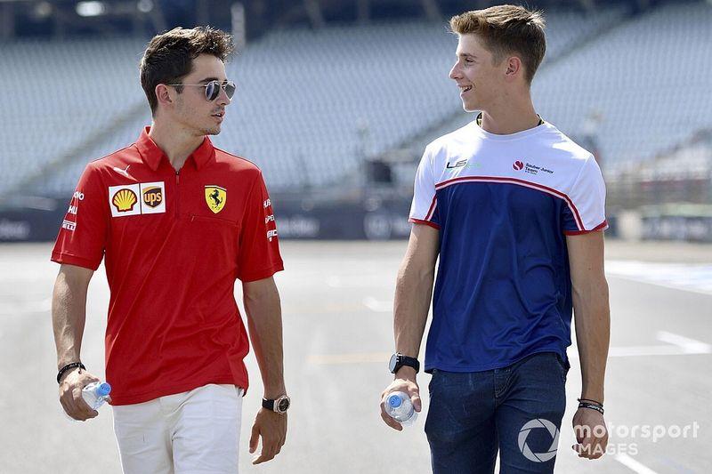 Ferrari signs Leclerc's brother Arthur as F1 junior