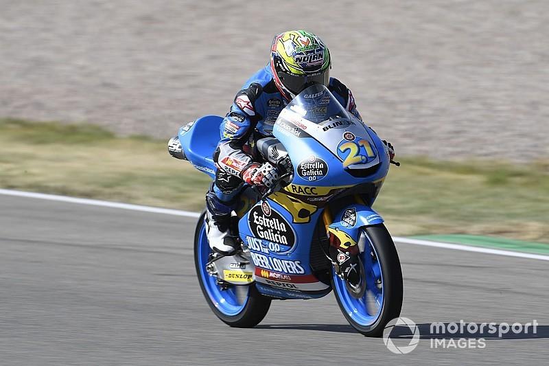 Moto3, Brno: Lopez penalizzato per la spinta a Garcia