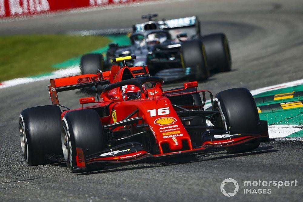 Leclerc: derrota para Verstappen me ajudou a segurar Hamilton