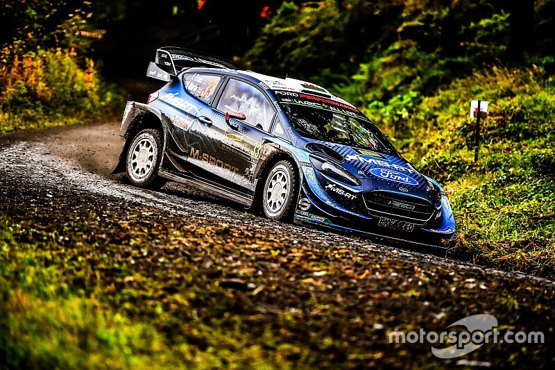 WRC, Rally Galles, PS12: Evans si ripete e sale 6°. Breen capotta