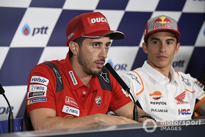 Marquez staat op ongekende hoogte in MotoGP, vindt Dovizioso