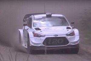 WRC: ecco la nuova aerodinamica anteriore della Hyundai i20 Coupé Plus