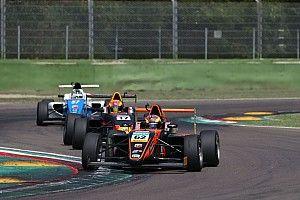 F4: Dennis Hauger centra il successo in Gara 1 a Imola