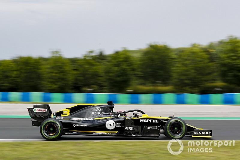 Ricciardo cambia le componenti della power unit e scatterà dal fondo