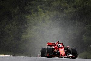 """Vettel justifica su posición en lluvia: """"Quizás fui demasiado gallina"""""""