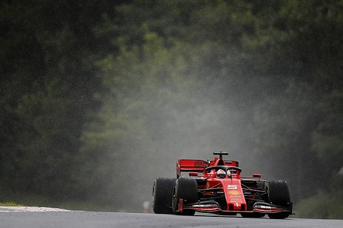 Vettel justifica mau rendimento na chuva: Talvez tenha sido muito covarde