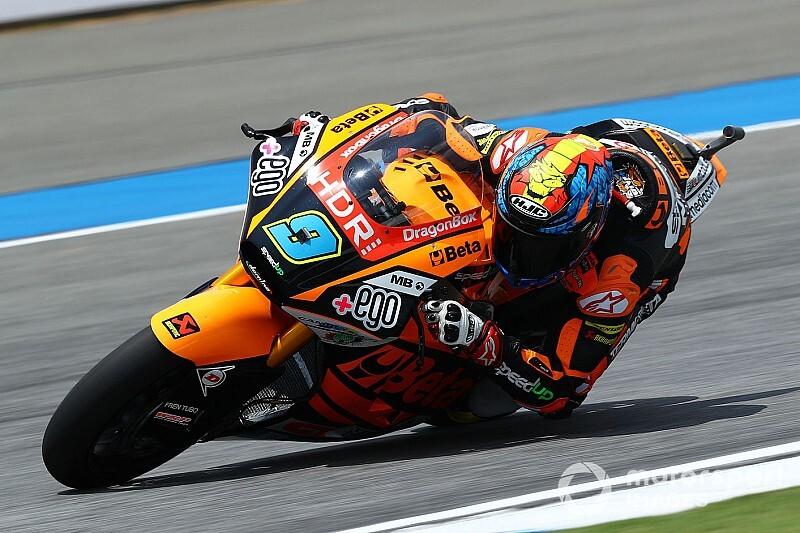 Moto2: terza pole di Navarro in Australia, Marini in prima fila