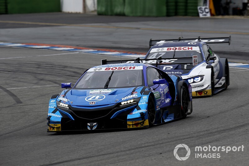 "Button explains race against ""very different"" DTM cars"
