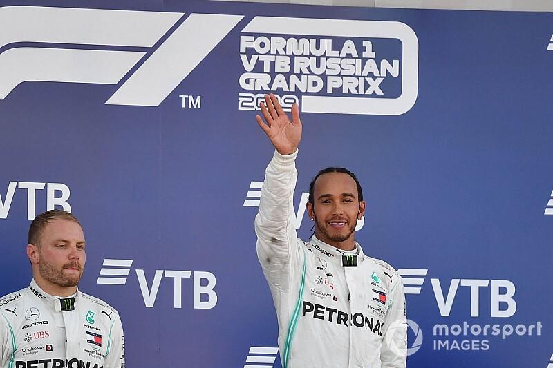 "Hamilton: ""Bottas'la aramızda saygı var"""