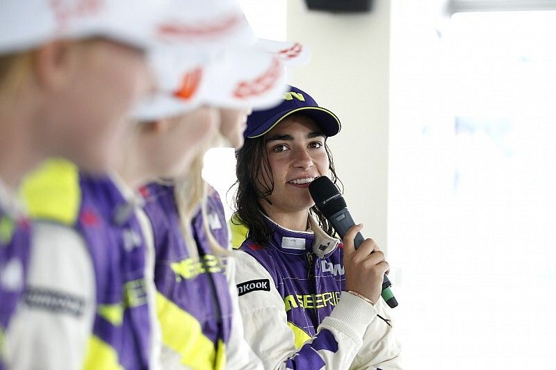 Jamie Chadwick conserve son rôle chez Williams