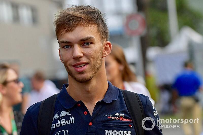 Gasly, henüz Toro Rosso'da rahat değil