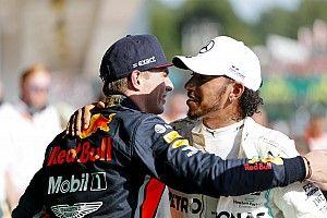 Hamilton-Verstappen beda kelas dengan pembalap lain
