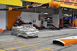 La F1 y los equipos se preparan para sufrir el tifón en Suzuka