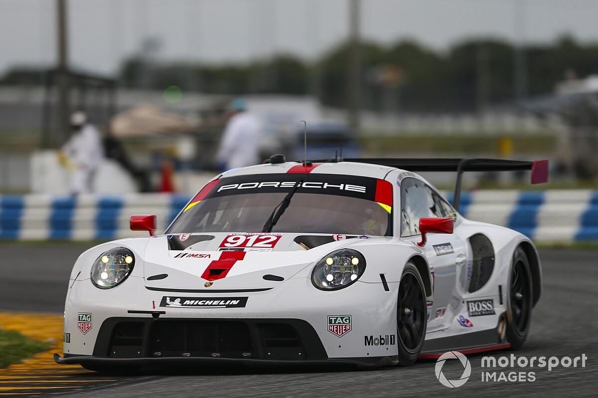 Porsche content with points lead after defeat by Corvette