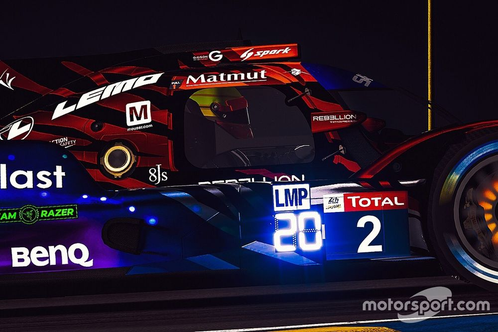 La increíble odisea de Bruno Senna y Williams en Le Mans Virtual
