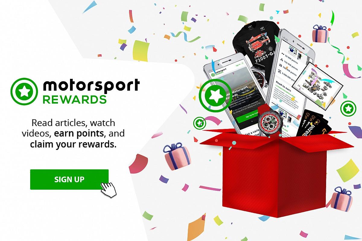 شبكة موتورسبورت تطلق برنامج الجوائز الأكبر من نوعه في العالم