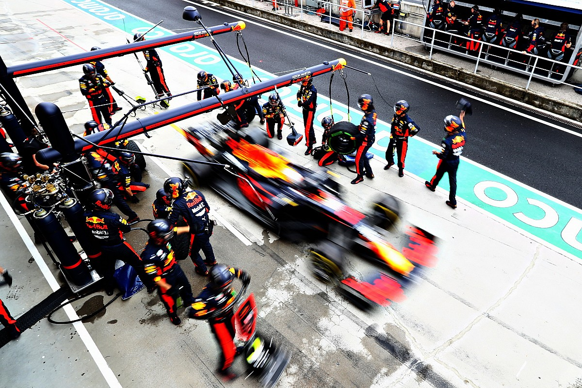 Nieuw smeermiddel voor wheelguns helpt Red Bull naar snelle stops