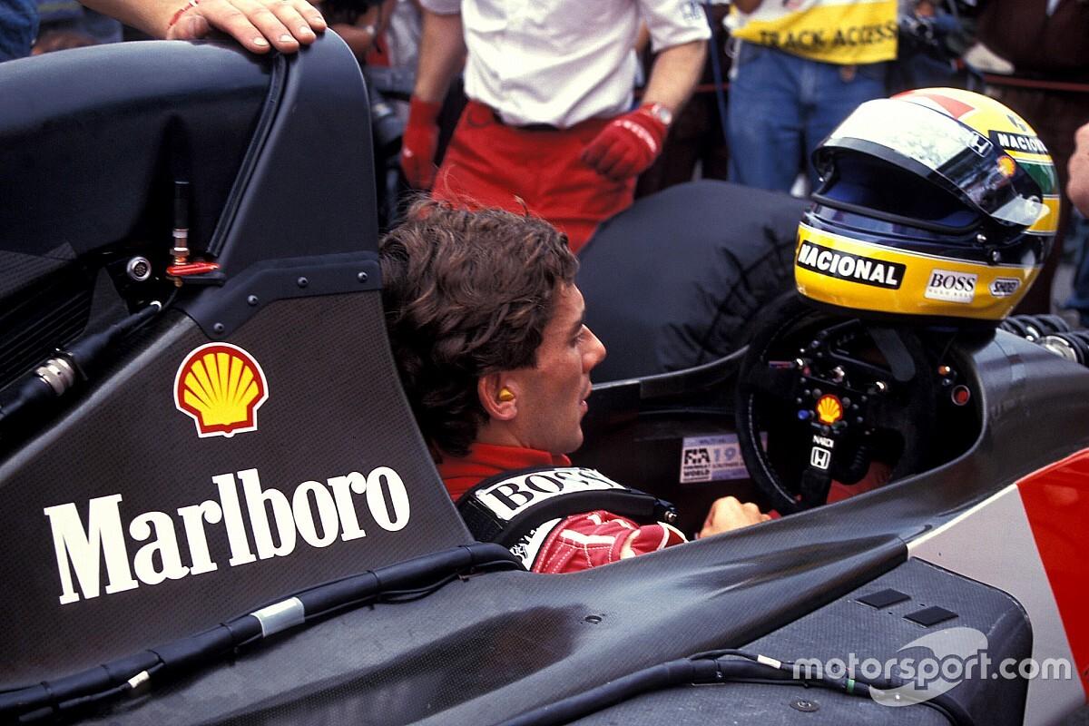 Ayrton Senna az 1000 kilométeres nürburgringi versenyen: videó