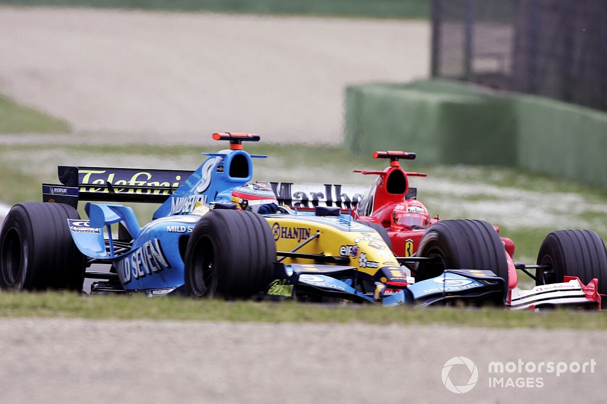 The day Alonso gave Schumacher a masterclass
