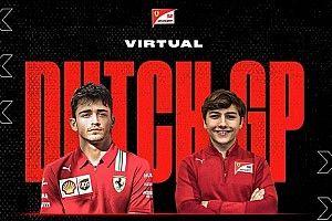 Enzo Fittipaldi será parceiro de Leclerc na Ferrari em GP Virtual