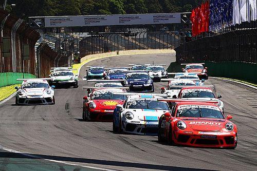 Paludo e Elias começam empatados na liderança da Porsche Carrera; veja classificação após 1ª etapa