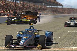 Чемпион IndyCar выбил с трассы гостя из Формулы 1 в виртуальной гонке