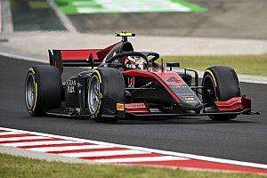 F2亨格罗林排位赛:埃洛特雨地中摘杆位,周冠宇第三