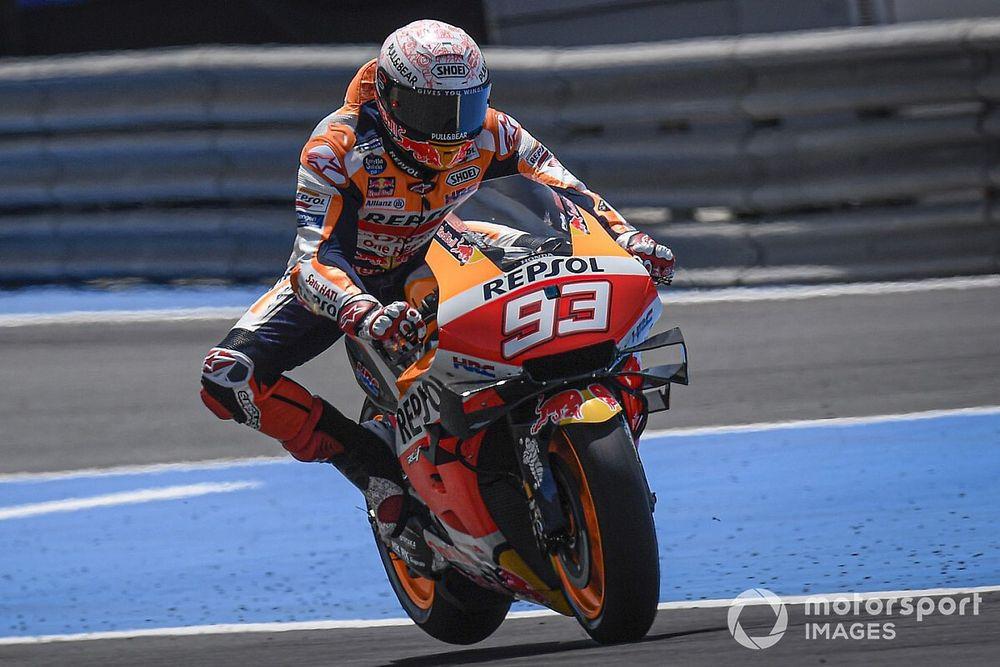 Márquez no descarta correr este fin de semana en Jerez