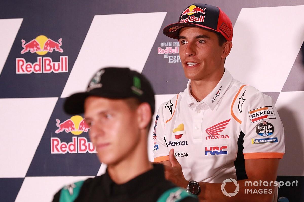 Márquez attendait beaucoup plus de Quartararo et Dovizioso