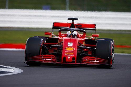 Vettel baalt in Silverstone: Veel slechter kan het niet worden