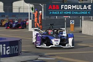 ABB Formula E Race at Home Challenge: élőben az FE online versenye -Vandoorne, Massa, Vergne...