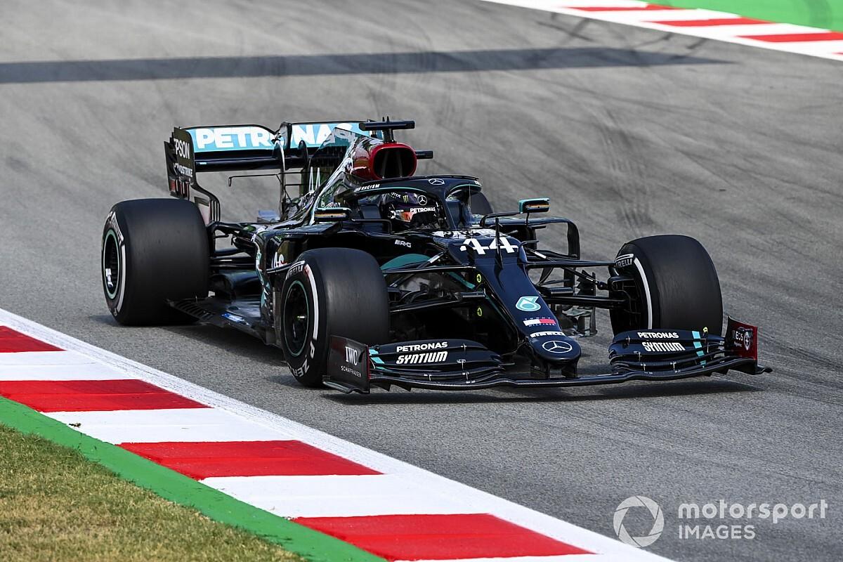 EL2 - Hamilton en tête, Grosjean dans le top 5