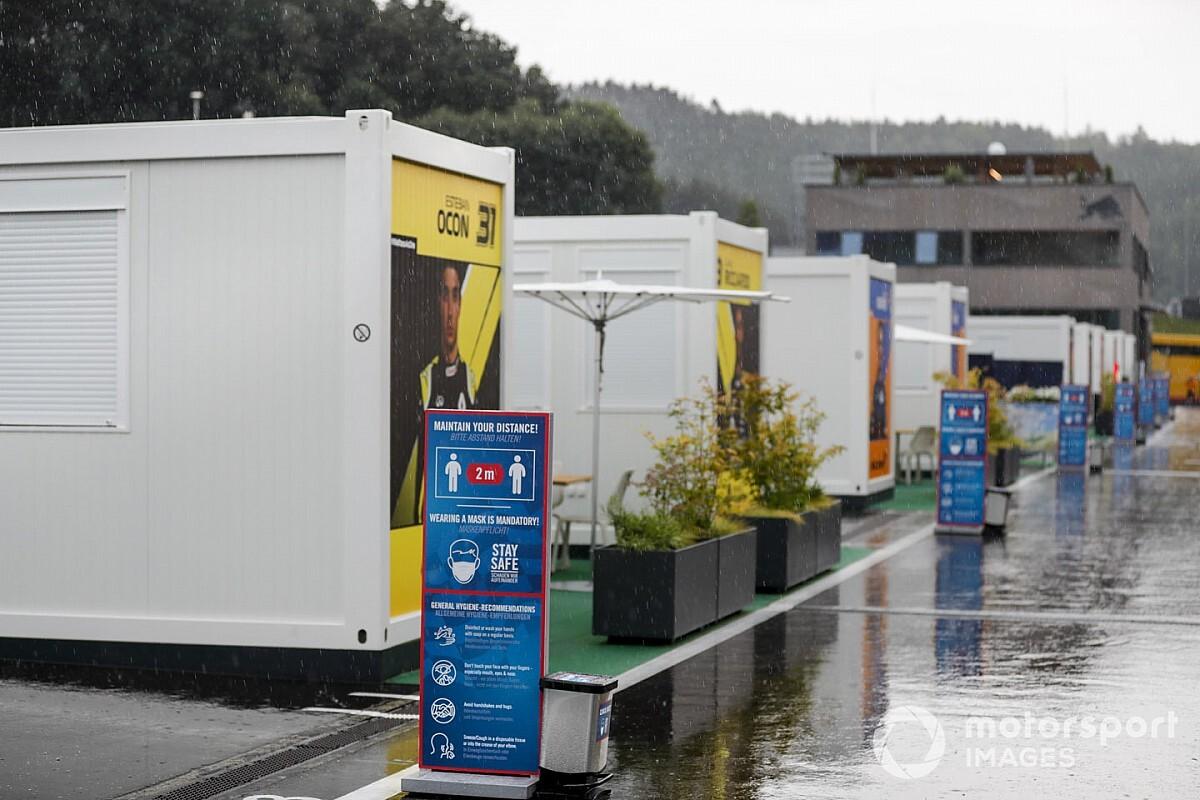 Формула 1 отменила третью тренировку Гран При Штирии