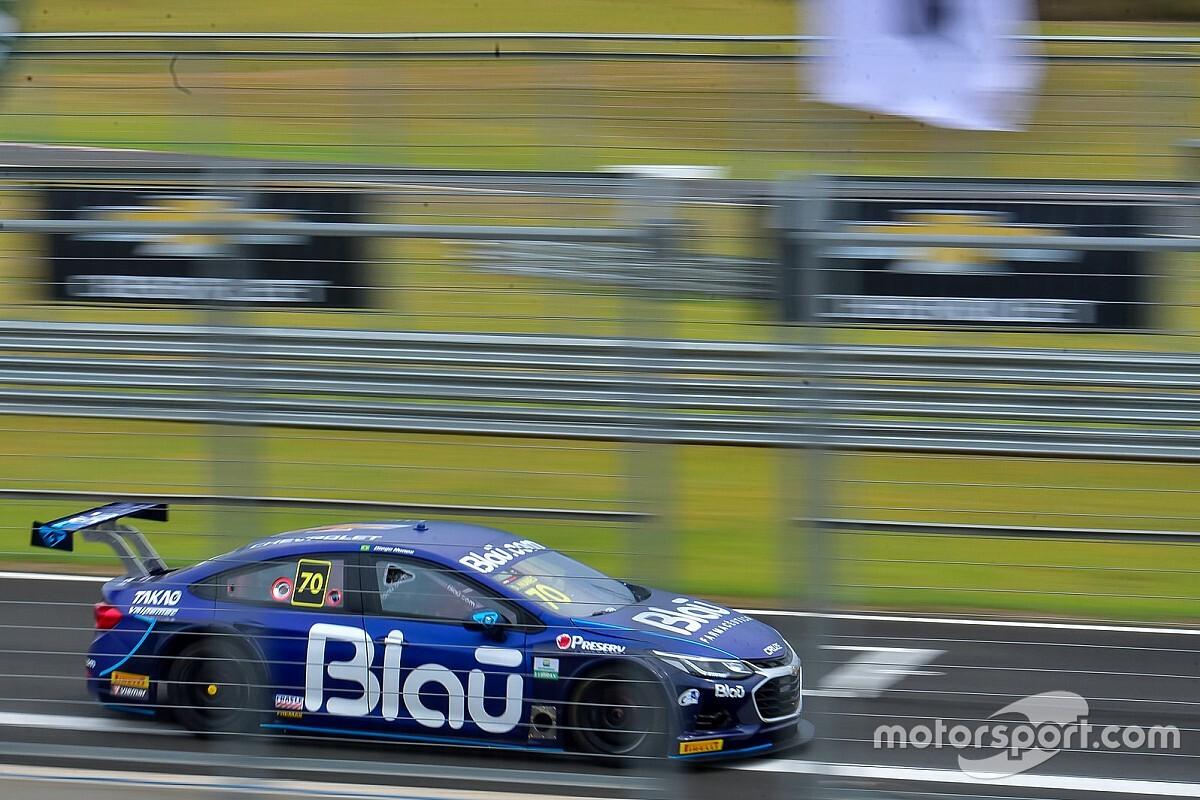 Stock Car: Nunes lidera dobradinha da Blau Motorsport em treino no Velocitta