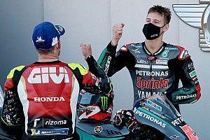 Startopstelling voor de MotoGP Grand Prix van Aragon