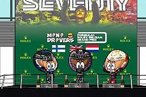 Vídeo: el ¿aburrido? GP de Bélgica, por MiniDrivers