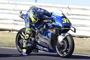 """Mir: """"La moto empieza a moverse en la curva 11 y no para hasta la 13"""""""