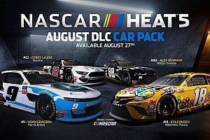 NASCAR HEAT 5's second Content Pack available from August 27