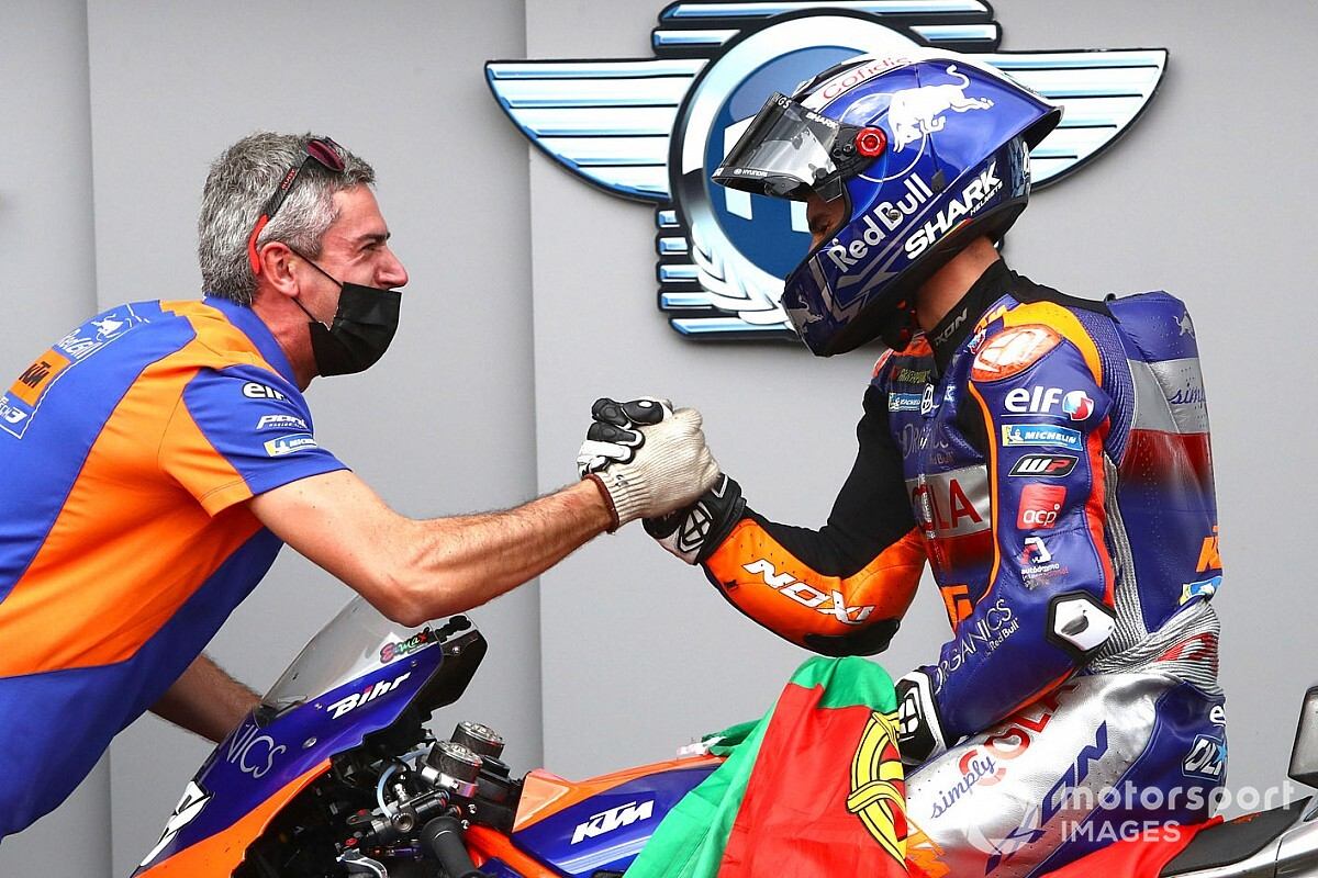 "Oliveira ""saw"" maiden MotoGP win coming weeks ago"