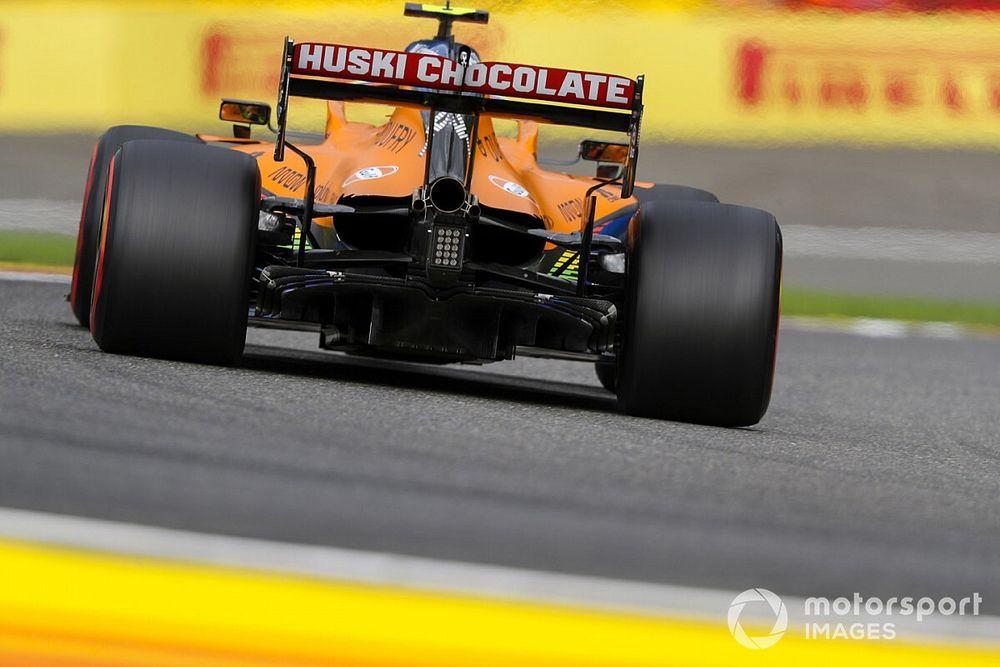 """Norris: """"Renault'nun bir, bizim birçok zayıf noktamız var"""""""