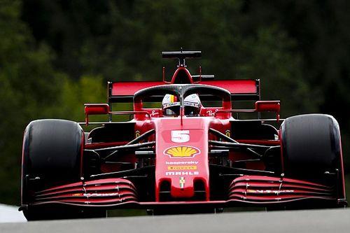 """Vettel: """"Aracın hızı 14. sıraya denk geliyor"""""""