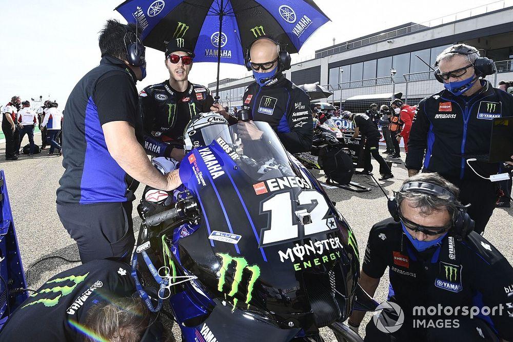 Yamaha: cinque membri del team in quarantena COVID-19