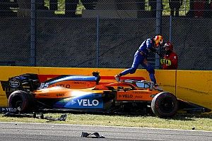 El accidentado GP de la Toscana en Mugello, en fotos