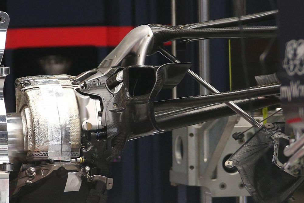 На Red Bull разглядели новую деталь подвески