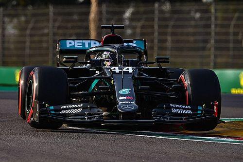 F1エミリア・ロマーニャ:流れも味方にハミルトンが逆転優勝。ホンダ勢に災難続くも、クビアト4位