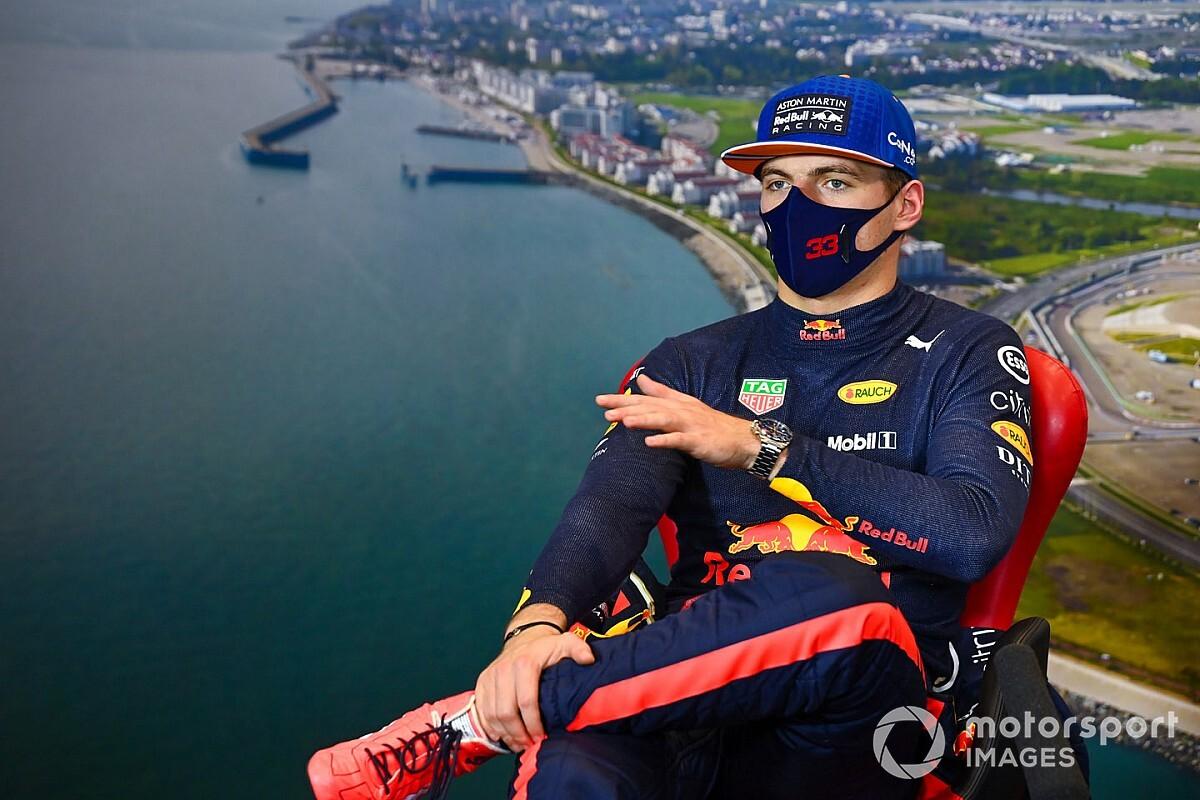 """Max Verstappen élu """"Pilote du Jour"""" du GP de Russie 2020"""