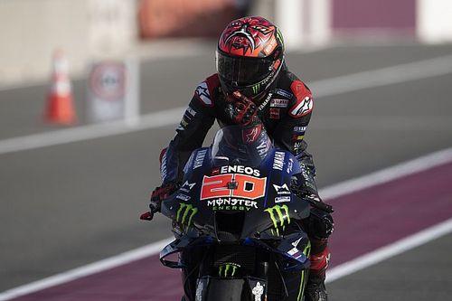 Quartararo topt warm-up voor Grand Prix van Qatar