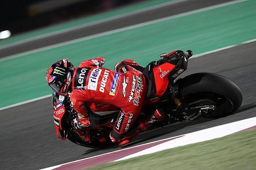MotoGP: Pole, Bagnaia não acredita em possibilidade de vitória no Catar