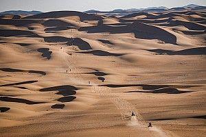 Dakar: Etap 3 - największa pustynia