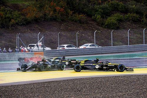 Touché par Ricciardo puis Bottas, Ocon a encore joué de malchance